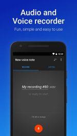 دانلود نرم افزار ضبط صدا برای اندرویدEasy Voice Recorder Pro 
