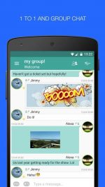 دانلود نرم افزار چت پالرینگو برای اندروید Palringo Group Messenger
