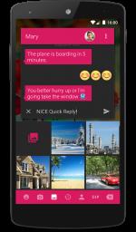 دانلود نرم افزار جایگزین اس ام اس Textra SMS برای اندروید