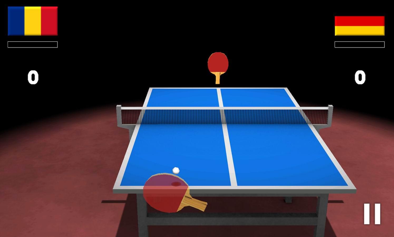 دانلود بازی زیبای تنیس اندروید Virtual Table Tennis 3D