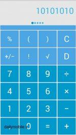 دانلود ماشین حساب با قابلیت انتخاب رنگ برای اندروید Solo Scientific Calculator