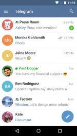 جدیدترین ورژن مسنجر تلگرام اندروید Telegram