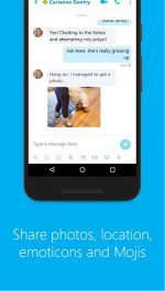 Skype - free IM & video calls نسخه ی جدید برنامه ی اسکایپ برای اندروید