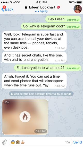 دانلود تلگرام اپل 6