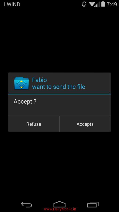 بهترین برنامه ی انتقال فایل از طریق وایرلس برای اندروید WiFi File Transfer Pro