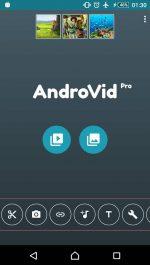 AndroVid Pro Video Editor دانلود برنامه ی ویرایش ویدیو برای اندروید