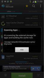 برنامه نصب و حذف برنامه ها به صورت دسته جمعی در اندروید Easy Installer - Apps On SD