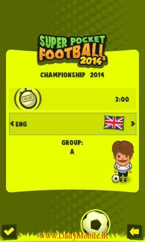 Super Pocket Football 20145