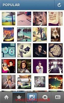 دانلود نرم افزار اینستاگرام برای جاوا instagram java