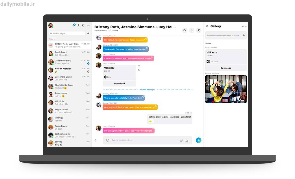 دانلود آخرین نسخه ی اسکایپ کامپیوتر Skype for Desktop