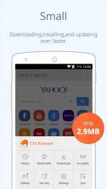 دانلود مرورگر سریع و ایمن سی ام برای اندروید CM Browser – Fast & Secure