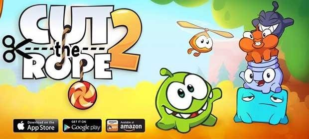 Cut the Rope 2 دانلود بازی جذاب طناب را ببر نسخه 2 اندروید