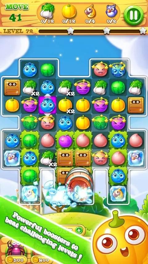 دانلود بازی حذف میوه ها برای اندروید Garden Mania 2 - Crazy Summer