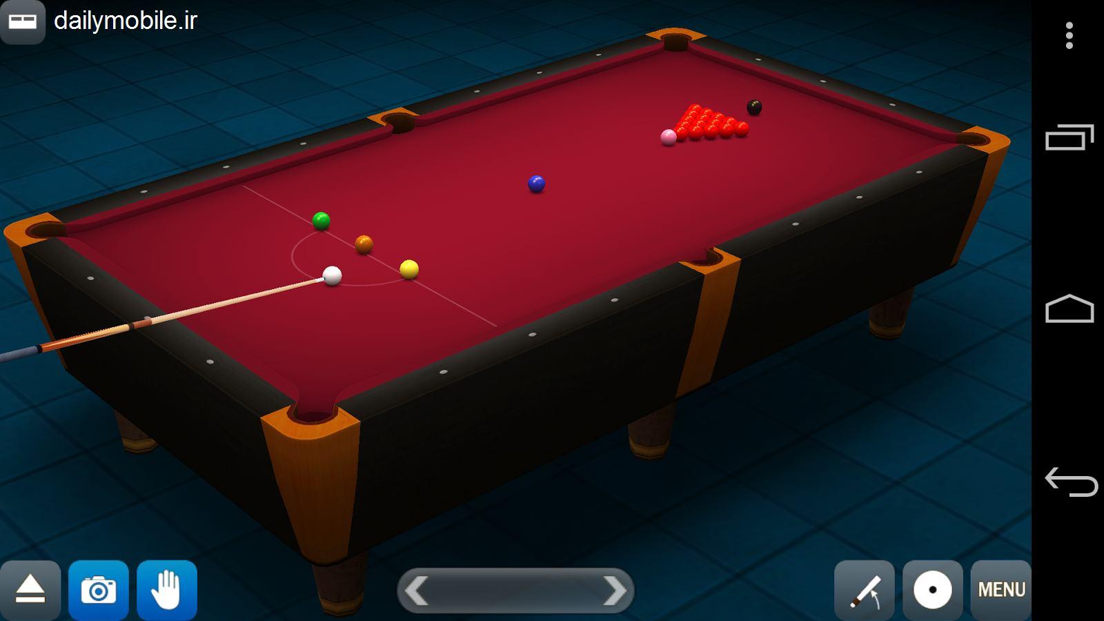 دانلود نسخه ی جدید بازی بیلیارد بسیار زیبا برای اندروید Pool Break Pro 3D Billiards
