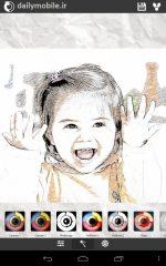 دانلود برنامه جالب تبدیل عکس به نقاشی برای اندروید XnSketch Pro