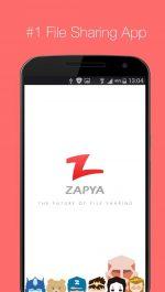 دانلود بهترین برنامه ی انتقال فایل از طریق وایرلس برای اندروید Zapya