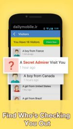 دانلود برنامه ی چت اینستاگرام برای اندروید InstaMessage – Instagram Chat