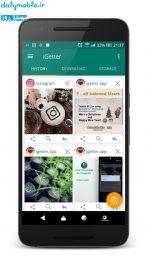 برنامه اندروید دانلود عکس و ویدیو از اینستاگرام iGetter for Instagram「Pro」