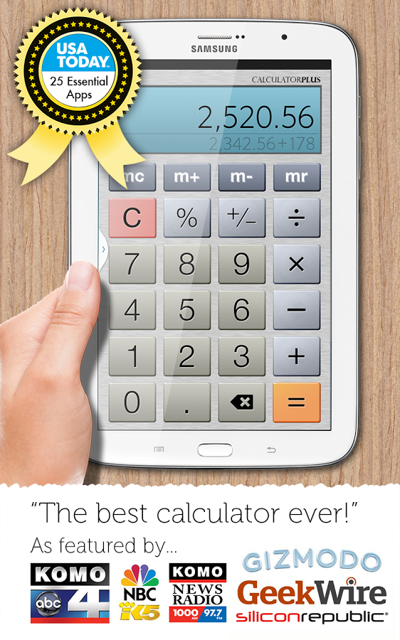 Calculator Plus 4.8