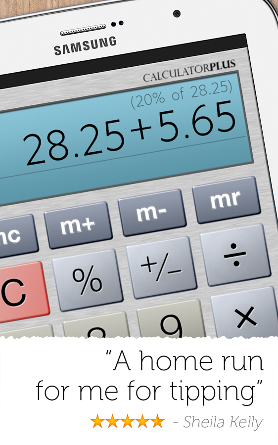Calculator Plus 4.812