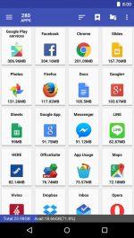 دانلود نرم افزار انتقال برنامه ها به مموری کارت اندروید AppMgr Pro III (App 2 SD)