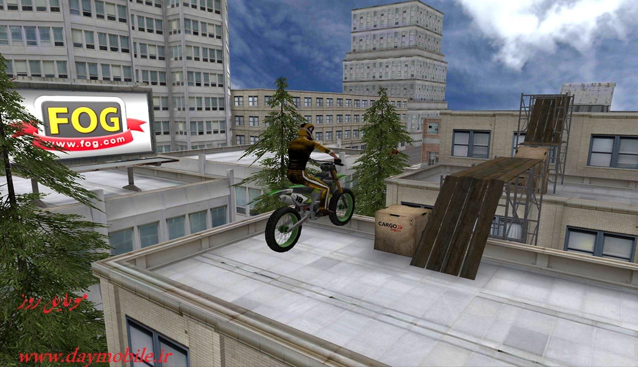 دانلود نسخه کامل بازی بسیار زیبای Stunt Bike 3D Premium اندروید
