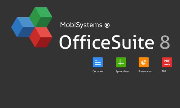 دانلود نرم افزار OfficeSuite 8 + PDF Premium v8.0.2458 برای اندروید