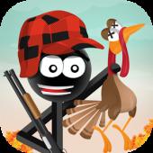 دانلود بازی شکار بوقلمون برای اندروید Stickman Turkey Hunter Pro
