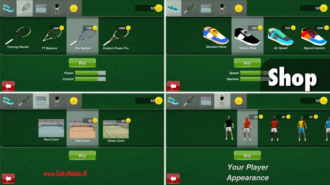 Tennis champion 3D v1.5.0