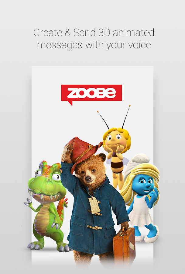 Zoobe - 3D animated messages (6)