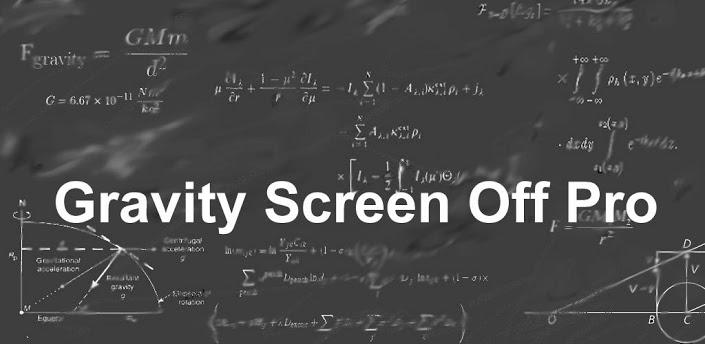 دانلود روشن و خاموش کردن صفحه نمایش با جاذبه برای اندروید Gravity Screen Pro – On/Off