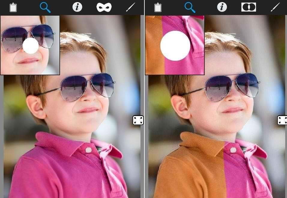 دانلود برنامه تغییر رنگ عکس ها برای اندروید Color Effect Booth Pro