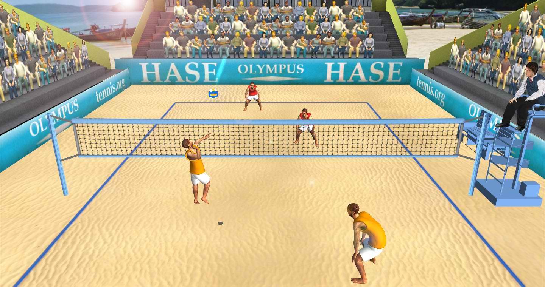 دانلود بازی مسابقات والیبال ساحلی برای اندروید Beach Volleyball World Cup