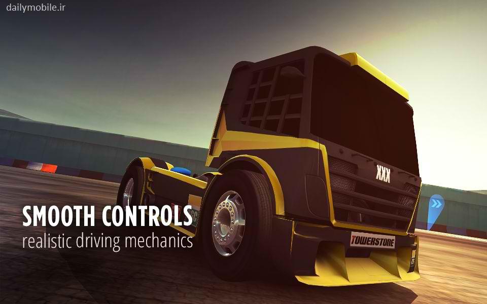 دانلود بازی فوق العاده دریفت زون کامیون ها برای اندروید Drift Zone: Trucks
