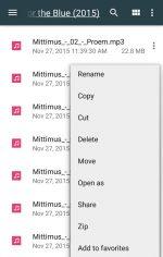 برنامه مدیریت فایل پیش فرض سونی برای اندروید File Commander - File Manager