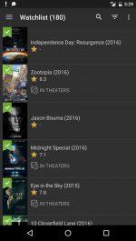 دانلود نرم افزار دسترسی به اطلاعات فیلم و سریال IMDb Movies & TV اندروید