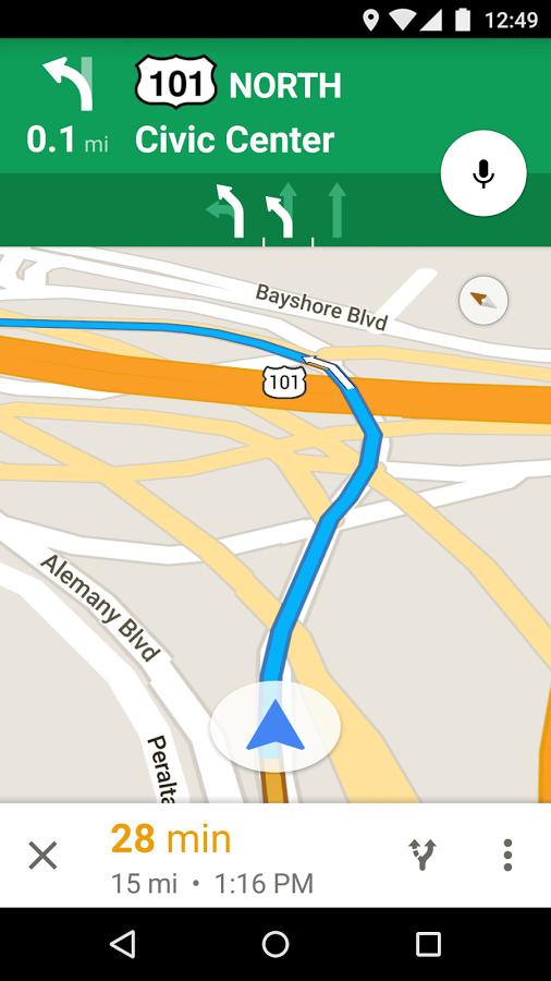دانلود نرم افزار فوق العاده گوگل مپز برای اندروید Maps - Navigation & TransitMaps