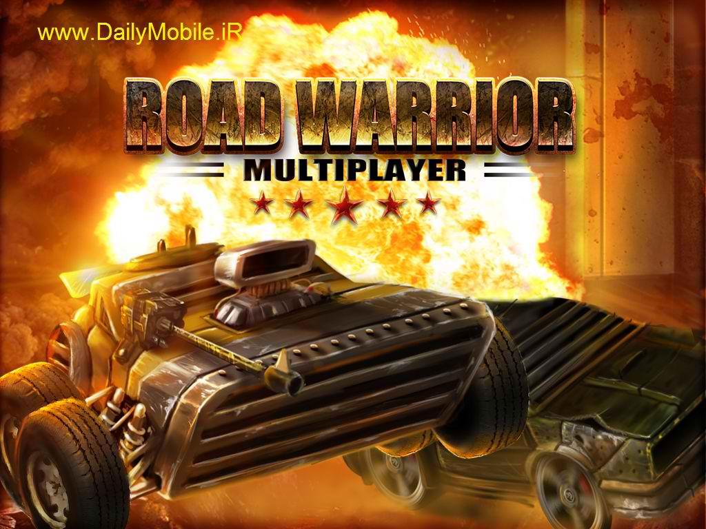 دانلود بازی زیبای جنگجوی جاده برای اندروید Road Warrior: Best Racing Game