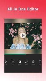 نرم افزار به اشتراک گذاری ویدیو در اینستاگرام بدون ویرایش Video Editor Music,Cut,No Crop