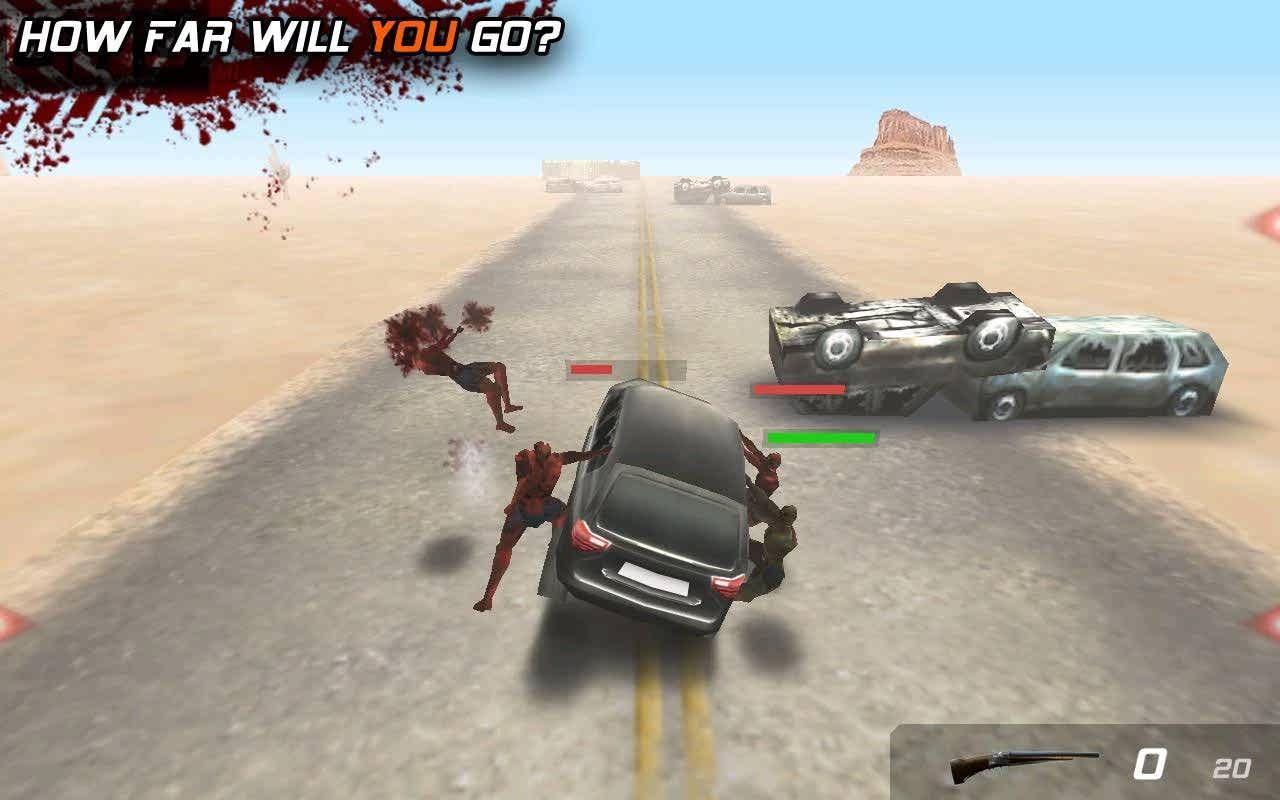 دانلود بازی زیبای فرار از زامبی ها Zombie Highway برای اندروید