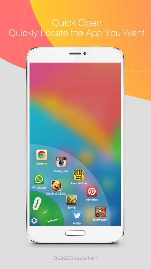 360 Launcher Fast Free Themes v6.0.21
