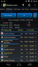 دانلود نرم افزار مدیریت باتری گوشی های اندروید 3C Battery Monitor Widget Pro