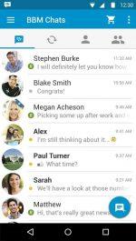 دانلود مسنجر محبوب بلک بری برای اندروید Blackberry Messenger