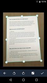 دانلود نرم افزار اسکن متن و مدارک برای اندروید CamScanner -Phone PDF Creator