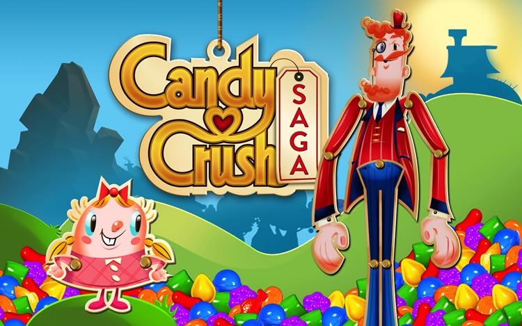 Candy Crush Saga بازی کندی کراش برای اندروید