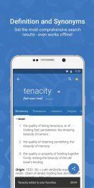 دانلود دیکشنری انگلیسی به انگلیسی Dictionary.com Premium برای اندروید