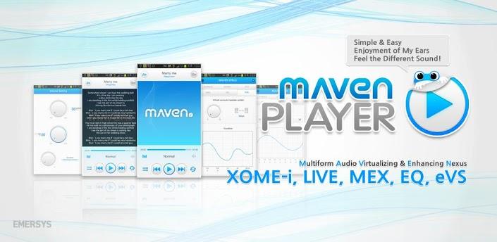 دانلود MAVEN Music Player Pro موزیک پلیر ماون برای اندروید
