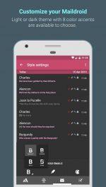 دانلود نرم افزار مدیریت ایمیل MailDroid Pro - Email App برای اندروید