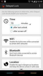دانلود نرم افزار قفل اتوماتیک گوشی های اندروید Delayed Lock