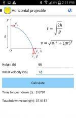 دانلود نرم افزار کاربردی فرمول های فیزیک برای اندروید Physics Formulas